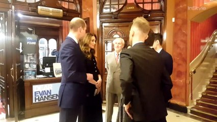 Kate Middleton and Prince William Attend Special Performance of 'Dear Evan Hansen'