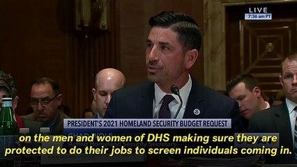 GOP Senator Grills Acting Homeland Security Secretary Over Lack Of Coronavirus Knowledge