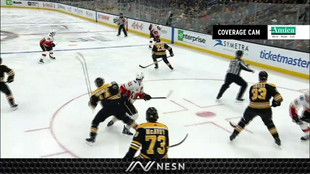 Bruins Surrender Multiple Chances Throughout First Period Vs. Flames