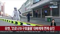 유엔, '코로나19 구호물품' 대북제재 면제 승인