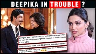 Deepika Padukone Gets TROLLED For 83 Movie FIRST LOOK Poster With Ranveer Singh | JNU
