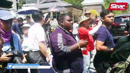 Ahli Parlimen Amanah tiba di Istana Negara
