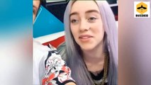 Funny moments of Billie Eilish