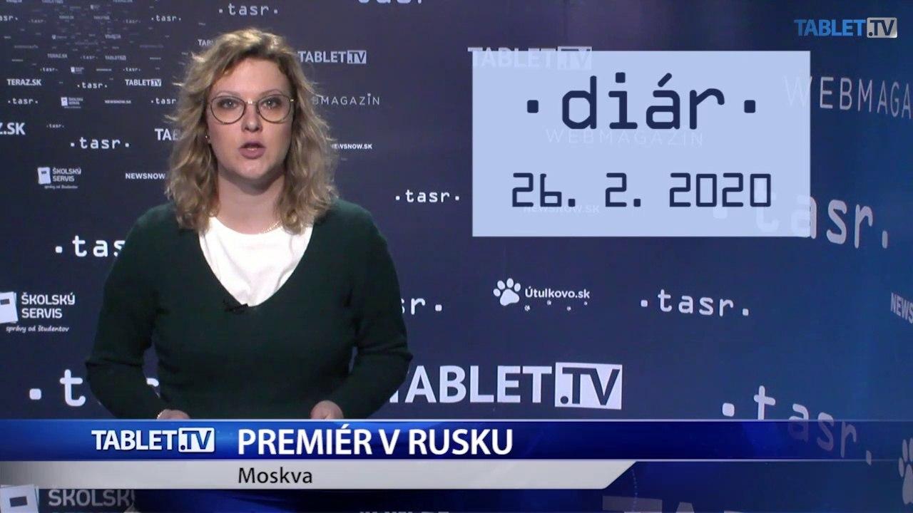 DIÁR: Premiér Pellegrini na návšteve Ruska