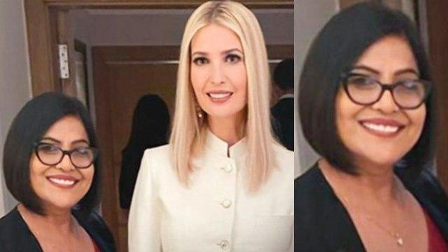 Ivanka Trump को Makeup Artist Anu Kaushik ने किया तैयार | Boldsky