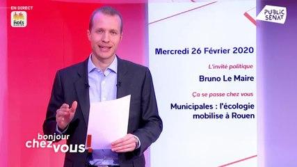 Bruno Le Maire - Public Sénat mercredi 26 février 2020