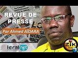 ZikFM - Revue de presse Ahmed Aidara du Mercredi 26 Février 2020