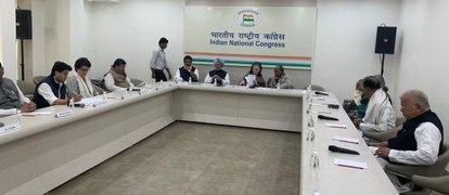 Crucial CWC underway without Rahul Gandhi