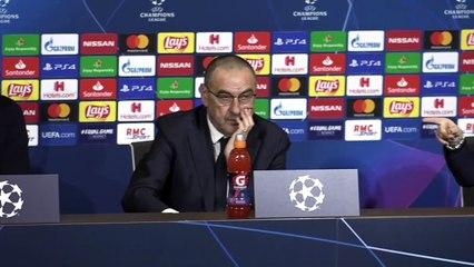 Leonardo #Bonucci et Maurizio #Sarri avant #OL - #Juventus