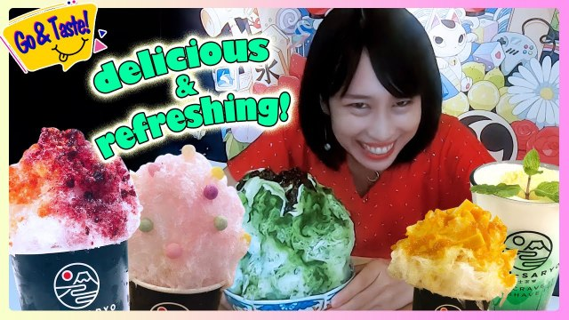 SUMMER IS COMING: TASTY SHAVED ICES ARE NOW AVAILABLE !!