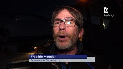 Reportage - Dammeur à Chamrousse - Reportage - TéléGrenoble