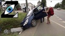 [Zap Télé] Pékin Express : la voiture des soeurs tombent dans le fossé ! (26/02/20)
