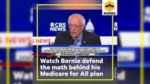 Senator Bernie Sanders at Dem Debate