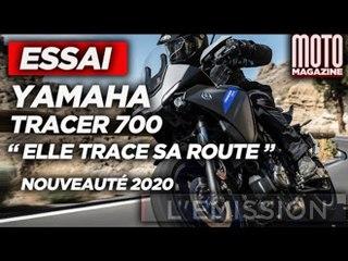 YAMAHA TRACER 700 - Elle TRACE sa route