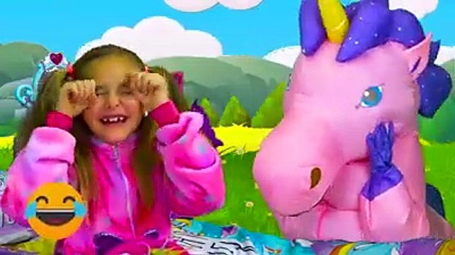 Sasha pretend play with dress up and make up toys