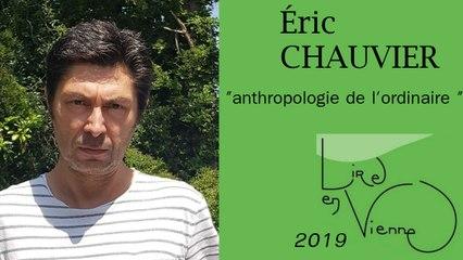"""(""""La petite ville"""" de Éric CHAUVIER)  anthropologie de l'ordinaire"""