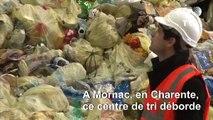 Recyclage: la Chine n'importe plus de déchets, un centre de Charente déborde