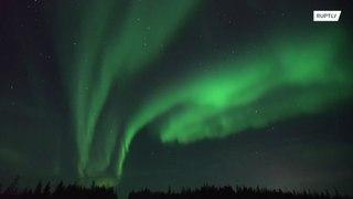 روسيا: لقطات ساحرة لأضواء الشمال