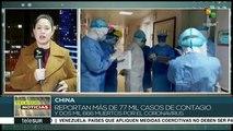 China: reportan más de 77 mil casos de contagio de coronavirus