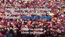 """Le lancer de harengs du carnaval de Dunkerque : """"C'est magnifique"""""""