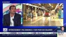 Intéressement: PSA annonce 4 100 euros pour ses salariés - 26/02