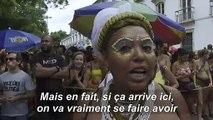 Les festivaliers continuent la fête au carnaval de Rio malgré un premier cas de coronavirus au Brésil