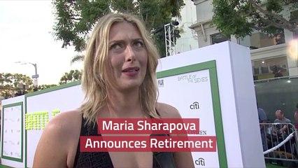 Maria Sharapova Quits Professional Tennis