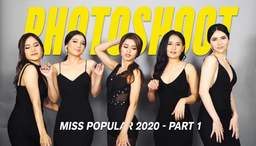 Photoshoot Miss POPULAR 2020 - Part 1