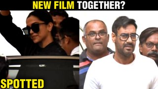 Deepika Padukone And Ajay Devgn To Come Together For A Project Spotted TOGETHER