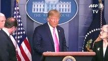 Trump minimiza riesgo de coronavirus en EEUU sin descartar restricciones de viaje