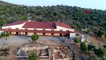 Antalya-patara dahil 9 antik kentin eserleri likya uygarlıkları müzesi'nde
