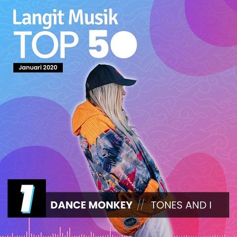 No 1 Langit Musik Top 50 Januari 2020