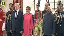 Rashtrapati Bhavan organise un dîner pour le président américain Donald Trump et Melania Trump