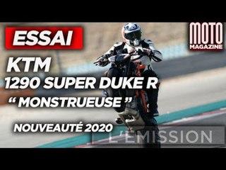 KTM 1290 SUPER DUKE R - prête pour la course