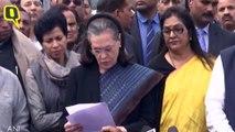 Sonia Gandhi-Led Congress Delegation Meets President Kovind on Delhi Violence