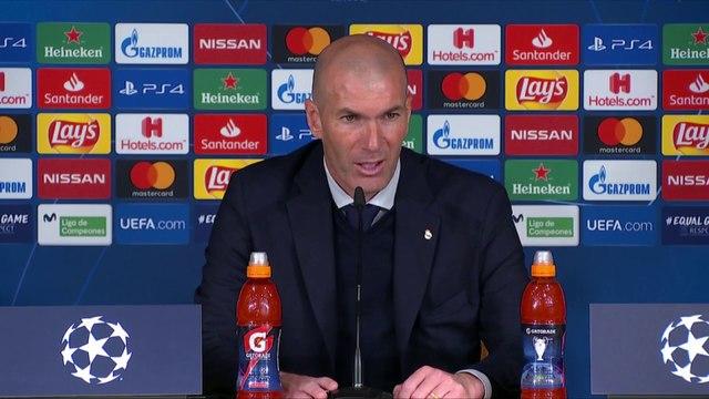 La réaction de Zidane après la défaite du Real Madrid