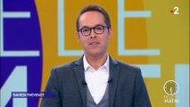 """Télématin - Damien Thévenot donne des nouvelles de Laurent Bignolas, placé en quarantaine par France 2 : """"Il va encore rester plusieurs jours chez lui"""""""