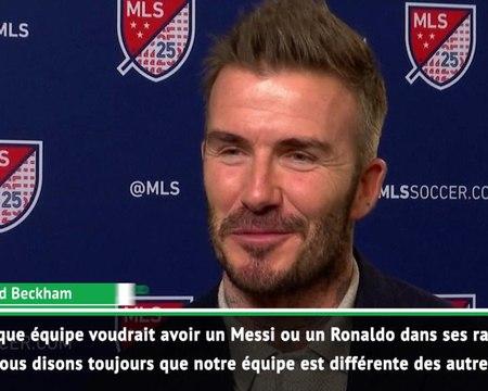 Inter Miami - Beckham rêve de recruter Messi ou Ronaldo