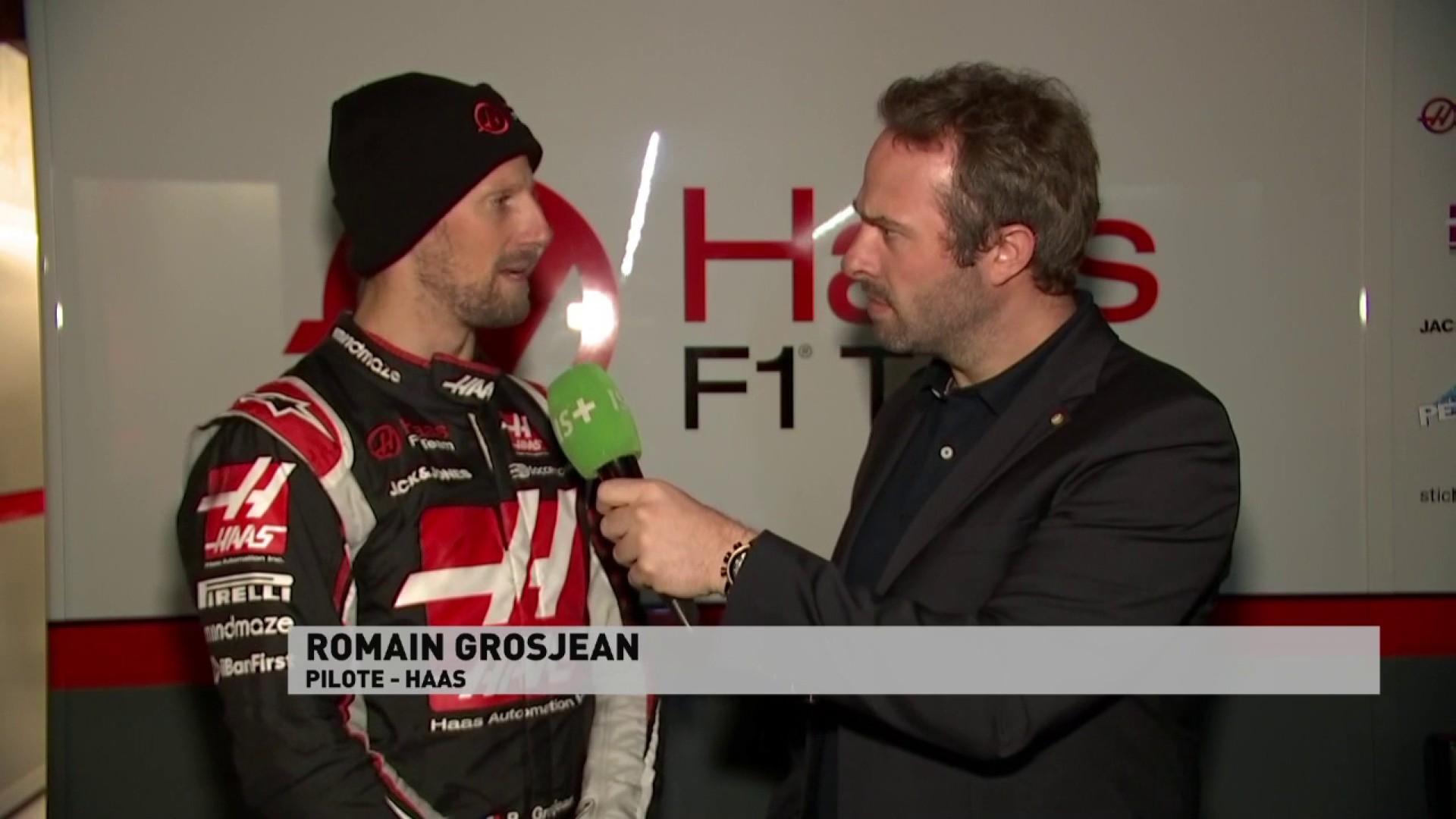 """Grosjean : """"On a un gros programme de tests"""""""