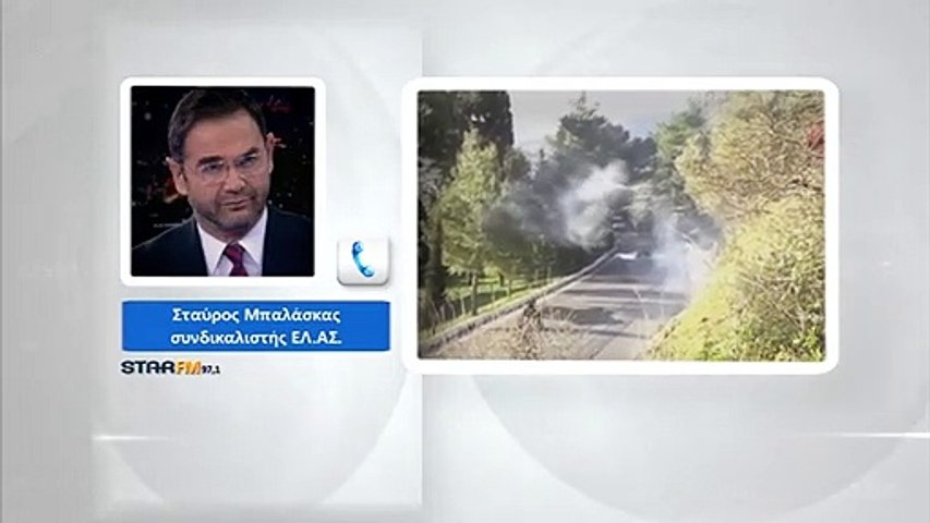 Σταύρος Μπαλάσκας: Θλιβερό, ΜΑΤ εναντίον φιλήσυχων πολιτών και το αντίστροφο...