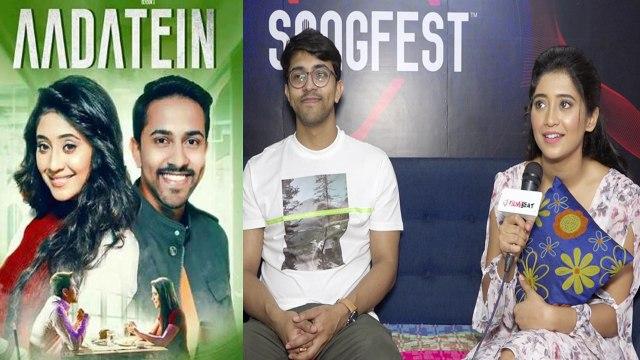 Shivangi joshi & suraj talks about their song Aadatein | Exclusive interview | FilmiBeat