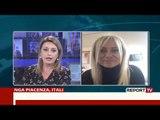 Report TV - Gazetarja shqiptare në Itali: Po i kthehemi jetës normale...