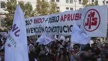 """Chile larga campañas de """"apruebo"""" y """"rechazo"""" para plebiscito sobre Constitución"""