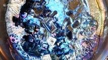 Ukrainian scientist makes DIY holographic bismuth crystals