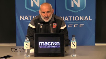 Vidéo - le point presse du coach François Ciccolini avant le déplacement à Boulogne