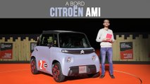 A bord du Citroën AMI (2020)