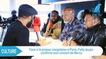 FALLY IPUPA confirme la tenue du concert du 28 février à Bercy