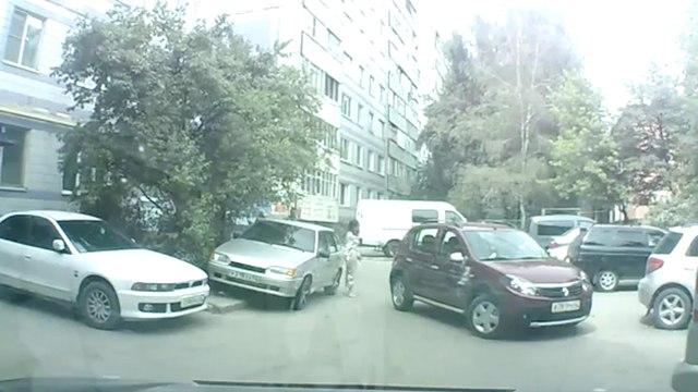 Worst parking skills ever!