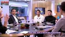 C à vous : Anne-Elisabeth Lemoine pas tendre avec Tom Leeb sur ses chances à l'Eurovision (vidéo)