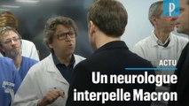 Macron interpellé à l'hôpital : «Vous pouvez comptez sur nous... l'inverse reste à prouver»